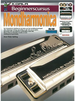 Beginnerscursus: Mondharmonica (Dutch) (Book/CD/2 DVDs/DVD-ROM) Books, CD-Roms / DVD-Roms, CDs and DVDs / Videos | Harmonica