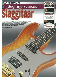 Gary Turner: Beginnerscursus Slaggitaar (Book/CD/2 DVDs/DVD-ROM) Books, CD-Roms / DVD-Roms, CDs and DVDs / Videos | Guitar