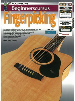 Gary Turner: Beginnerscursus Fingerpicking (Book/CD/2 DVDs/DVD-ROM) Books, CD-Roms / DVD-Roms, CDs and DVDs / Videos | Guitar