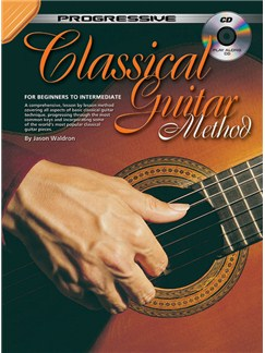 Progressive: Classical Guitar (Book/CD) Books and CDs | Classical Guitar
