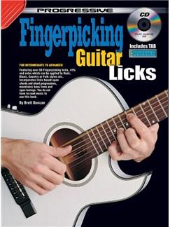 Progressive Fingerpicking Guitar Licks Books and CDs | Guitar