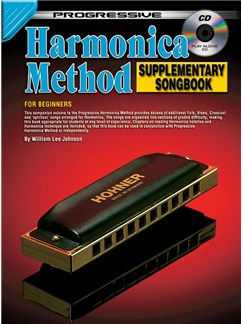 Progressive: Harmonica Method - Songbook (Book/CD) Books and CDs | Harmonica