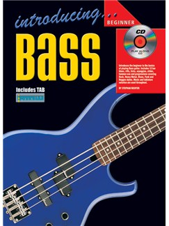 Introducing Bass Guitar (Book/CD) Books and CDs | Bass Guitar, Bass Guitar Tab