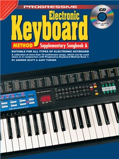Progressive: Electronic Keyboard Method - Supplementary Songbook A (Book/CD) Books and CDs | Keyboard