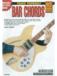10 Easy Lessons: Teach Yourself Bar Chords (DVD With Small Booklet) Books and DVDs / Videos | Guitar
