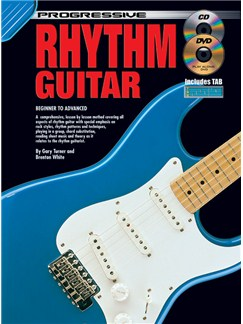 Progressive: Rhythm Guitar (Book/CD/DVD) Books, CDs and DVDs / Videos | Guitar