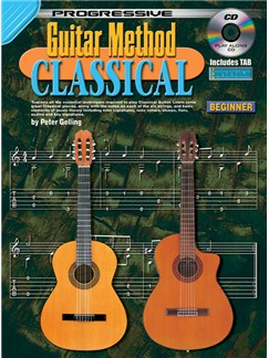 Progressive: Guitar Method - Classical (Book/CD) Books and CDs | Classical Guitar