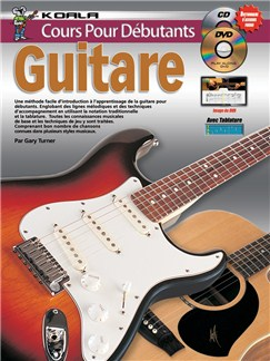 Cours Pour Débutants: Guitare (Livre/CD/DVD) Books, CDs and DVDs / Videos | Guitar