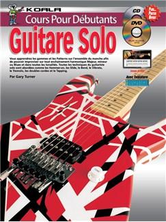 Cours Pour Débutants: Guitare Solo (Livre/CD/DVD) CD, DVDs / Videos et Livre | Guitare