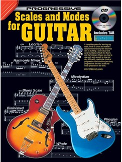 Progressive: Scales And Modes For Guitar (Book/CD) Books and CDs | Guitar