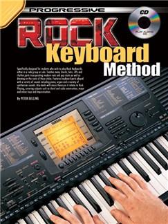 Progressive: Rock Keyboard Method (Book/CD) Books and CDs | Keyboard