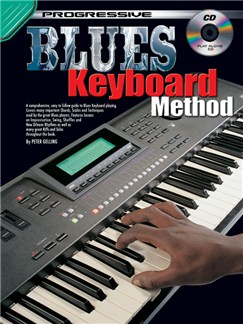 Progressive: Blues Keyboard Method (Book/CD) Books and CDs   Keyboard