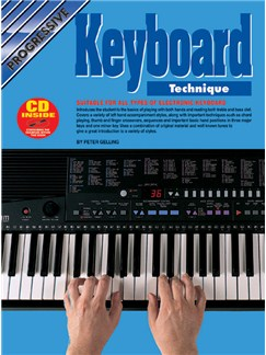 Progressive Keyboard Technique Books and CDs | Keyboard