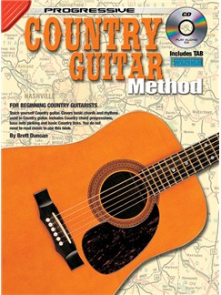 Progressive: Country Guitar Method (Book/CD) Books and CDs | Guitar