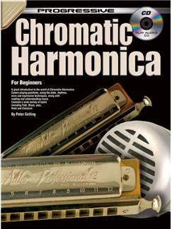 Progressive Chromatic Harmonica Books and CDs | Harmonica