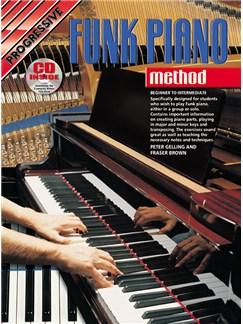 Progressive Funk Piano Method Books and CDs   Piano