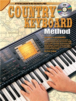 Progressive Country Keyboard Method Books and CDs | Keyboard