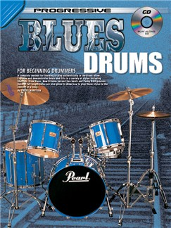 Progressive Blues Drums Books and CDs | Drums