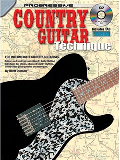 Progressive Country Guitar Technique Books and CDs | Guitar