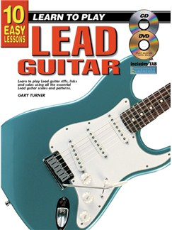 10 Easy Lessons: Learn To Play Lead Guitar Books, CDs and DVDs / Videos | Guitar