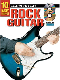 10 Easy Lessons: Learn To Play Rock Guitar Books, CDs and DVDs / Videos | Guitar