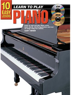 10 Easy Lessons: Learn To Play Piano Books, CDs and DVDs / Videos | Piano