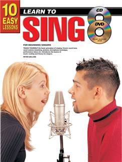 10 Easy Lessons: Learn To Play Learn to Sing Books, CDs and DVDs / Videos | Voice