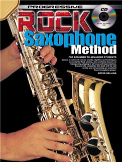 Progressive Rock Saxophone Method Books and CDs | Saxophone