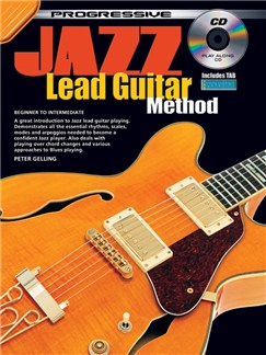 Progressive Jazz Lead Guitar Method Books and CDs | Guitar