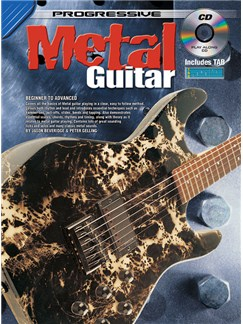 Progressive: Metal Guitar Method (Book/CD) Books and CDs | Guitar
