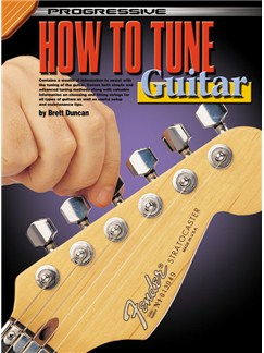Progressive How to Tune the Guitar Books and CDs | Guitar