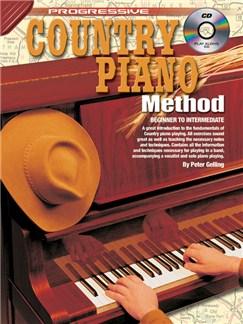 Progressive Country Piano Method Books and CDs | Piano