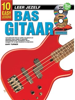 Gary Turner: 10 Easy Lessons Bas Gitaar (Book/CD/DVD) (Dutch Language Edition) Books, CDs and DVDs / Videos | Bass Guitar