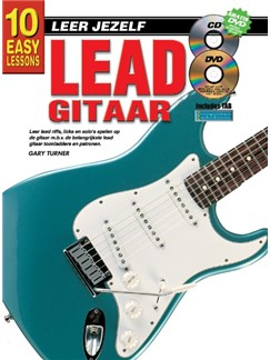Gary Turner: 10 Easy Lessons Lead Gitaar (Book/CD/DVD) (Dutch Language Edition) Books, CDs and DVDs / Videos | Guitar