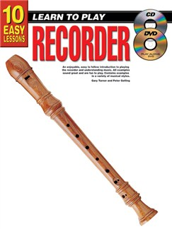10 Easy Lessons: Learn To Play Recorder Books, CDs and DVDs / Videos | Recorder