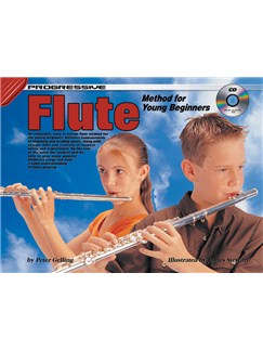 Progressive Flute Method For Young Beginners Books and CDs | Flute