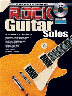 Progressive Rock Guitar Solos Books and CDs | Guitar