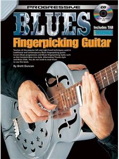 Progressive Blues Fingerpicking Guitar Books and CDs | Guitar