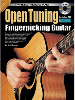 Progressive Open Tuning Fingerpicking Guitar Books and CDs | Guitar