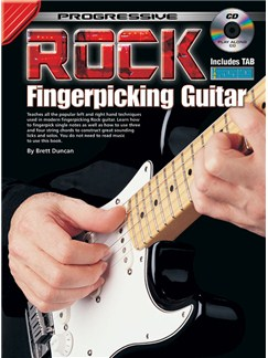 Progressive Rock Fingerpicking Guitar Books and CDs | Guitar