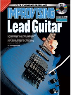 Progressive Improvising Lead Guitar Books and CDs | Guitar