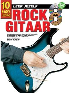 10 Easy Lessons Leer Jezelf Rock Gitaar (Boek/CD/DVD) Books, CDs and DVDs / Videos | Guitar