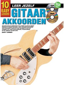 Gary Turner: 10 Easy Lessons Gitaar Akkoorden (Book/CD/DVD) (Dutch Language Edition) Books, CDs and DVDs / Videos | Guitar