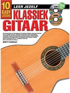 10 Easy Lessons Leer Jezelf Klassiek Gitaar (Boek/CD/DVD) Books, CDs and DVDs / Videos | Guitar