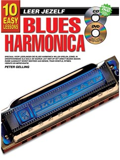 10 Easy Lessons Leer Jezelf Blues Harmonica (Boek/CD/DVD) Books, CDs and DVDs / Videos | Harmonica