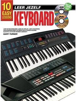 10 Easy Lessons Leer Jezelf Keyboard (Boek/CD/DVD) Books, CDs and DVDs / Videos | Keyboard