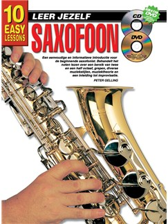 10 Easy Lessons Leer Jezelf Saxophone (Boek/CD/DVD) Books, CDs and DVDs / Videos | Saxophone