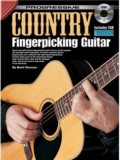 Progressive Country Fingerpicking Guitar Books and CDs | Guitar