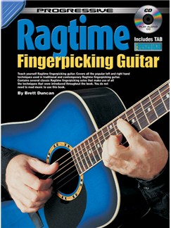 Progressive Ragtime Fingerpicking Guitar Books and CDs | Guitar