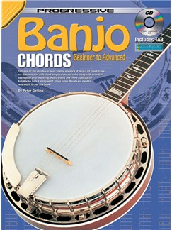 Progressive Banjo Chords Books and CDs | Banjo